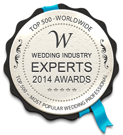 Wedding Industry Expert Award 2014